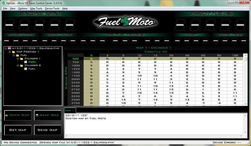 Fuel Moto Micro EFI Tuner