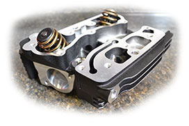 Fuel Moto Level 'C' Cylinder Heads