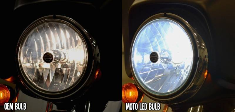 Moto Led H4 Headlight Replacement Bulb