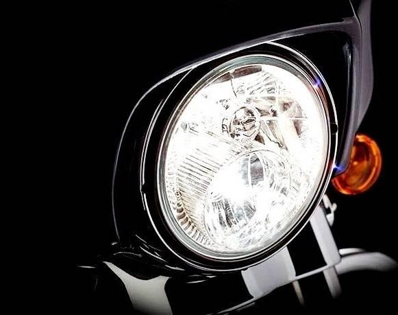 Moto Led H9 H11 Headlight Replacement Bulb Pair Hi Lo Beam