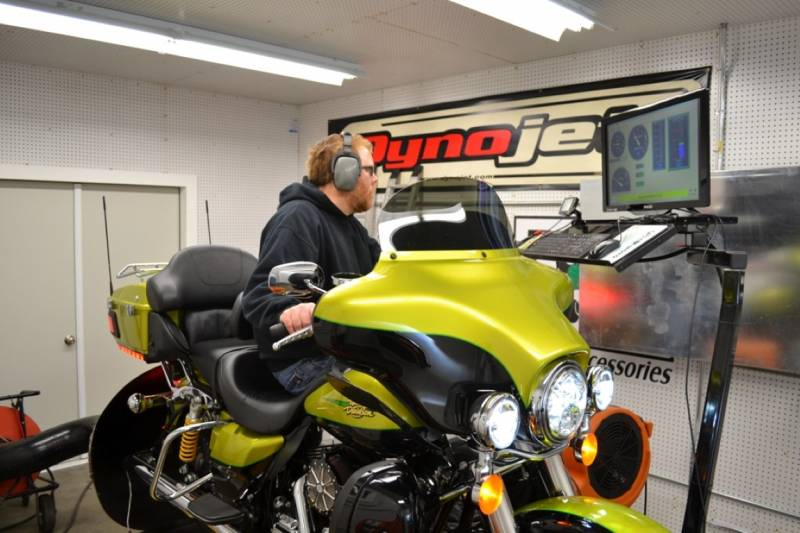 V-Twin Motorcycle Professional Dyno Tune