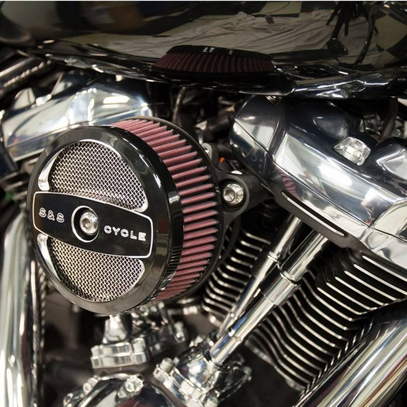 S/&S Cycle 1700298A Stealth Two Air Cleaner Kit