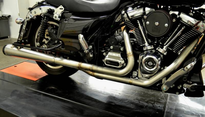 Jackpot M8 Road & Track 2-into-1 Exhaust System - Fab-Spec