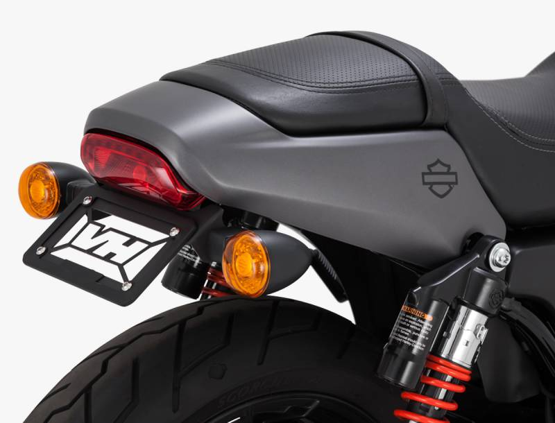 Vance /& Hines 47943 Black Hi-Output Slip-On Muffler 2015-19 Harley Street Models