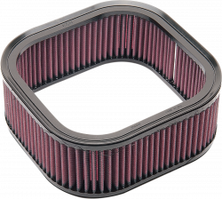 K & N - High-Flow Replacement Air Filter - AIR FIL H.D. V-ROD