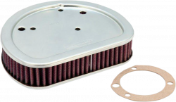 K & N - High-Flow Replacement Air Filter - AIR FILTER FLSTSB