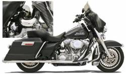 Bassani Xhaust - Bassani Xhaust Power Curve True-Duals Crossover Header Pipes - HEADPIPES TRUDuals 09-14FL