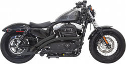 Bassani Xhaust - Radial Sweepers Exhaust System - EXHAUST SWEEPR 14 XL BLK
