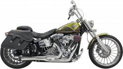 Bassani Xhaust - Road Rage 2 into 1 Systems - EXHST RR2-1 SH BRKOUT CH