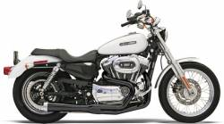 Bassani Xhaust - Road Rage 2 into 1 Systems - EXHAUST RR2-1UP04-13XL BK