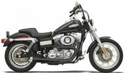 Bassani Xhaust - Road Rage 2 into 1 Systems - EXHAUST RR2-1UP FXD BLK
