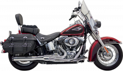 Bassani Xhaust - Road Rage II B1 Power Systems - EXHAUST B1 CHR ST 86-11