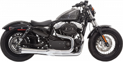 Bassani Xhaust - Road Rage II Mega Power Systems - EXHAUST 2-1 MEGA 14 XL CH