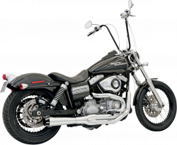 Bassani Xhaust - Road Rage II Mega Power Systems - EXHAUST 2-1MEGA FXD CHR