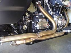 Jackpot - Jackpot 2/1/2 Stainless Steel Tri Glide Head Pipe