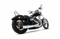 Rinehart - Rinehart - Dyna 2-into-1 System Chrome with Black End Cap