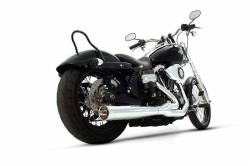 Rinehart - Rinehart - Dyna 2-into-1 System Chrome with Chrome End Cap