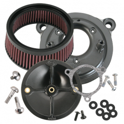 S&S Cycle - S&S Cycle Stealth Air Cleaner Kit - Without Air Cleaner Cover 14-16 Touring Models