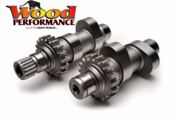 Wood Performance - Wood Performance TW-555 Chain Drive Camshafts with Fuel Moto Install Kit