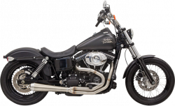 Bassani Xhaust - Bassani Xhaust Road Rage 3 Stainless 2-into-1 Exhaust System