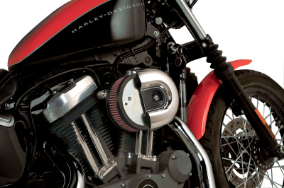 Arlen Ness - Big Sucker Performance Air Filter Kits - BIG SCKR XL STK CV PLAIN - Accepts OEM Cover