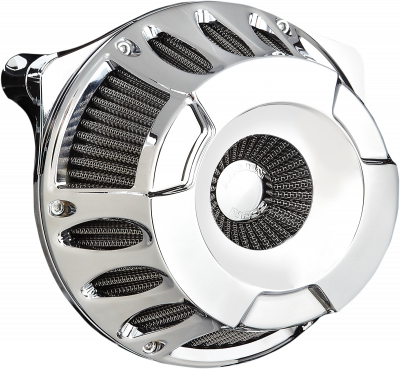 Arlen Ness - Inverted Series Air Cleaner Kits - AIR CLN DP-CUT08-14FL CH