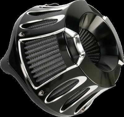 Arlen Ness - Inverted Series Air Cleaner Kits - AIR CLN DP-CUT99-14BT BL