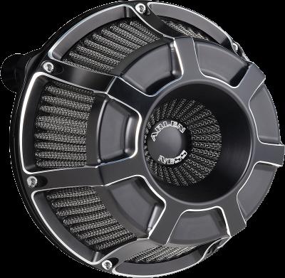 Arlen Ness - Inverted Series Air Cleaner Kits - AIR CLN BVLLD08-14FL BL