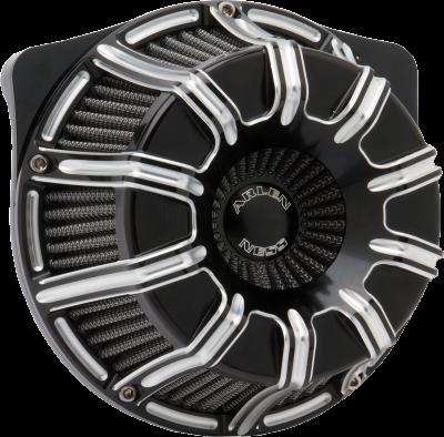 Arlen Ness - Inverted Series 10-Gauge Air Cleaner Kits - AIR CLN 10 GAUGE FLT BLK