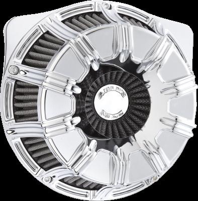 Arlen Ness - Inverted Series 10-Gauge Air Cleaner Kits - AIR CLN 10 GAUGE BT CHR