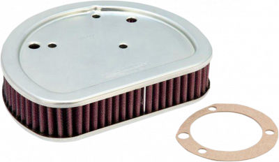 K & N - High-Flow Replacement Air Filter - AIR FILTER FLSTSB