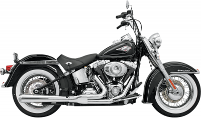 Bassani Xhaust - Road Rage 2 into 1 Systems - EXHAUST RR HS 86-11ST CHR