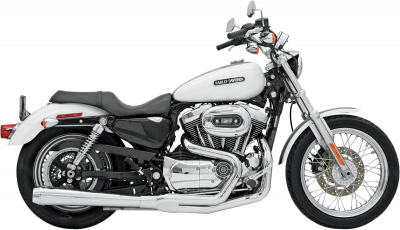 Bassani Xhaust - Bassani XhaustRoad Rage 2 into 1 Systems - EXHAUST RR HS 07-13 XL CH