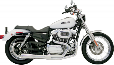 Bassani Xhaust - Road Rage 2 into 1 Systems - EXHAUST RR2-1UP86-03XL CH