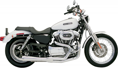 Bassani Xhaust - Road Rage 2 into 1 Systems - EXHAUST RR2-1UP04-13XL CH