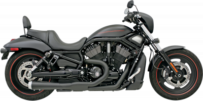 Bassani Xhaust - Road Rage 2 into 1 Systems - EXHAUST RR2-1 07-11VRD BK
