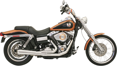 Bassani Xhaust - Bassani XhaustRoad Rage 2 into 1 Systems - EXHST RR2-1UP 06-11FXD CH