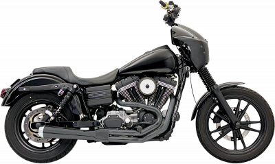 Bassani Xhaust - Road Rage 2 into 1 Systems - EXHST RR2-1UP 06-11FXD BK