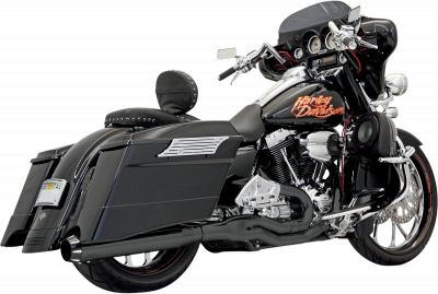 Bassani Xhaust - Road Rage II B1 Power Systems - EXHST 2-1 B1 95-14FL BK