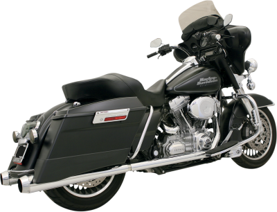 Bassani Xhaust - +P Bagger Stepped True-Duals Systems With Power Curve - EXHAUST TD PWRCRV 89-14FL