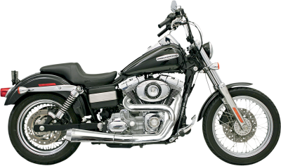Bassani Xhaust - Bassani Xhaust Road Rage 2 into 1 Systems - EXHAUST RR2-1UP FXD CHR