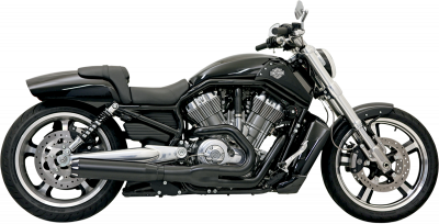 Bassani Xhaust - Road Rage II B1 Power Systems - EXHAUST B1 VROD 07-14 BK