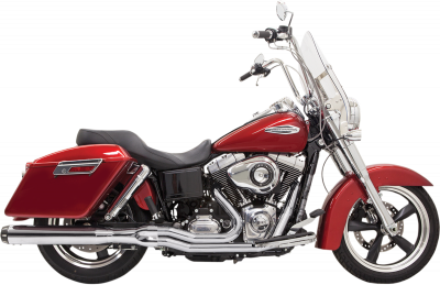 Bassani Xhaust - Bassani Xhaust Road Rage 2 into 1 Systems - EXHAUST 2-1 RDRG FLD CHR