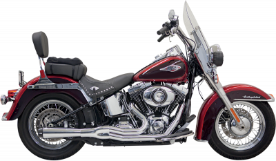 Bassani Xhaust - Road Rage II Mega Power Systems - EXHAUST MEGA CHR ST86-11