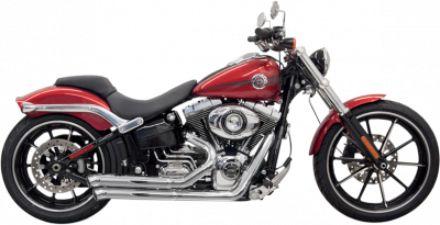 Bassani Xhaust - Bassani Xhaust Pro-Street Systems - EXHAUST P-ST TO BRKOUT CH