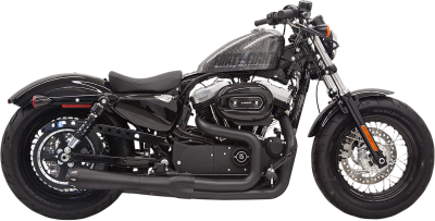Bassani Xhaust - Road Rage II Mega Power Systems - EXHAUST 2-1 MEGA 14 XL BK