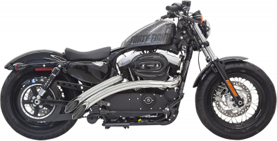 Bassani Xhaust - Radial Sweepers Exhaust System - EXHAUST SWEEPR 14 XL CHR