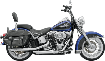 "Bassani Xhaust - 3"" Firepower Series Slip-On Mufflers - MUFFLERS SLASH CH 07-14ST"