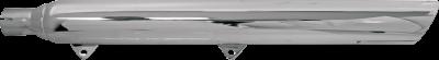 Bassani Xhaust - Bassani XhaustPower Curve True-Duals Crossover Header Pipes - MUFFLERS SLASH CUT CHR