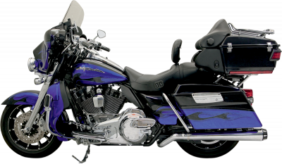 Bassani Xhaust - Road Rage II Mega Power Systems - MUFFLR PSDO MEGA 09-14CH